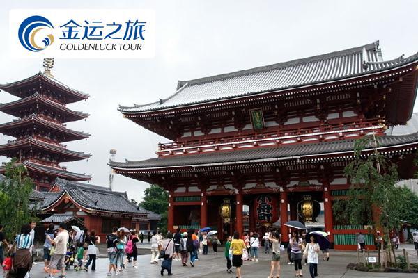 日式双温泉・游览古都京都・可选畅玩迪斯尼或台场尽情Shopping・最顺畅路线・超值本州全景6日休闲游