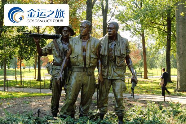 越战军人纪念碑