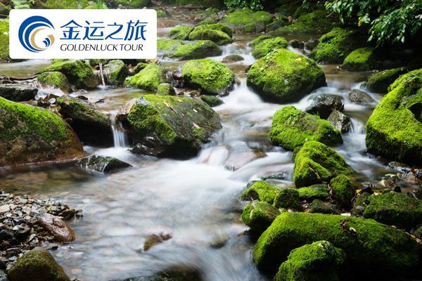 天然氧吧本溪绿石谷一日游