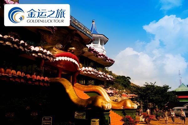 """【锡兰文化】科伦坡.狮子岩.佛牙寺.""""海上""""火车.海滨悠然9日游"""